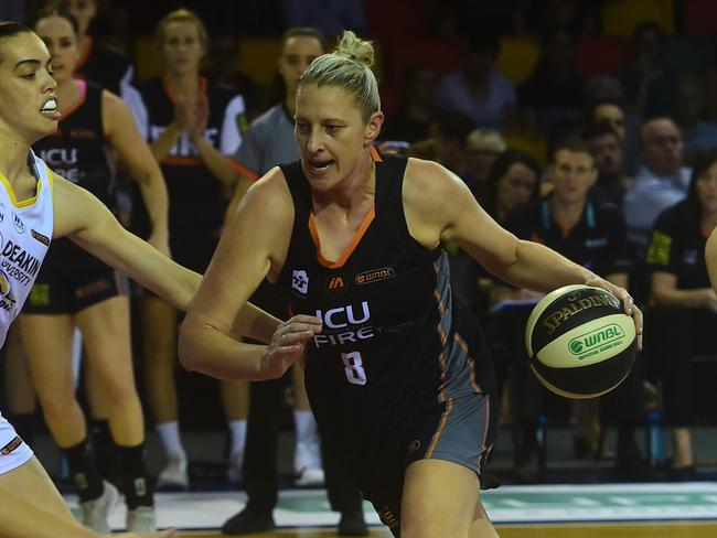Fire's Suzy Batkovic averaged a double-double in 2017/18. Picture: Evan Morgan