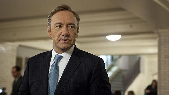 Kevin Spacey stars as Frank Underwood in House of Cards. Photo: Melinda Sue Gordon/Sony Pictures Television/ Netflix) Supplied by Showtime