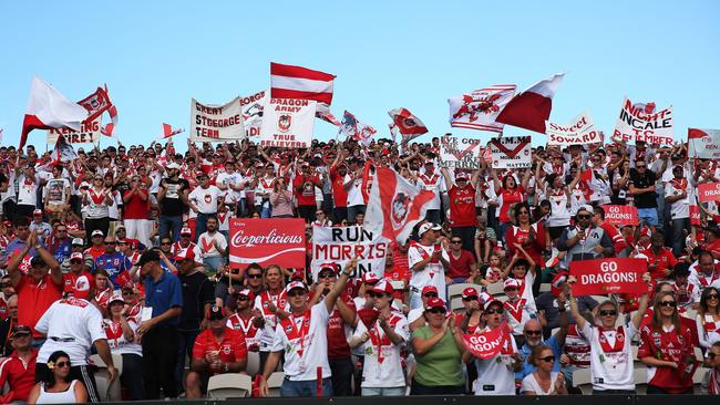 Scenes like this from WIN Jubilee at Kogarah are likely to be a thing of the past. .