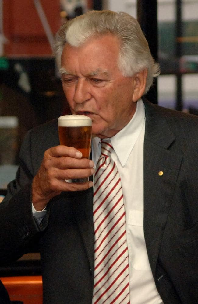 Bob Hawke launches new beer bearing his name | The Courier ...