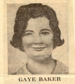 "Gaye Baker, 23, was last seen alive at Clayfield on July, 2, 1972. She had left her Archerfield home the day before to keep an appointment as a pool party hostess after being booked by telephone through an agency by a man who called himself """"John Taylor"