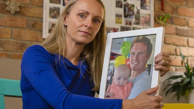 Jenny Wilson, whose brother Daniel George died in 2014 after taking only two drags of a joint rolled with synthetic cannabis, says he bought it legally at a sex shop. Picture: Valeriu Campan