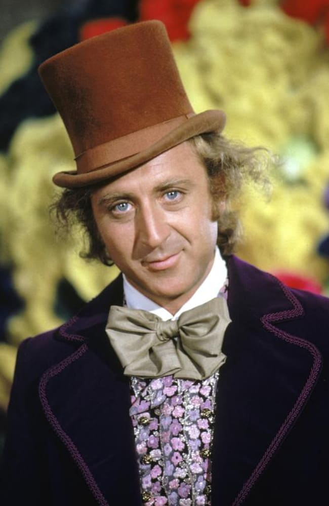 Wilder had more than a few ideas about Wonka's colourful costume. Picture: Silver Screen Collection/Hulton Archive/Getty Images