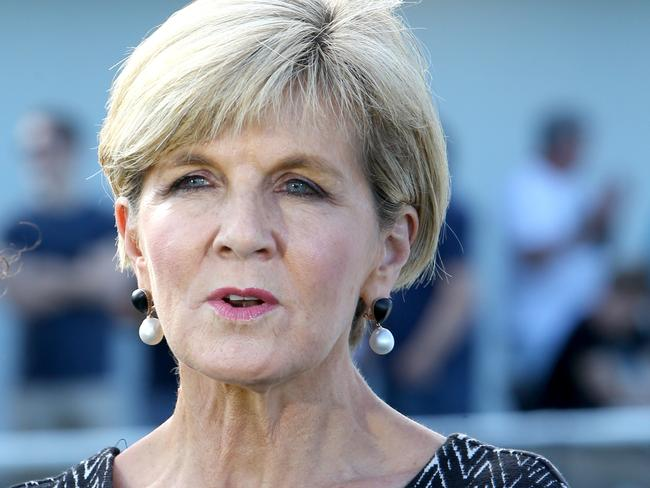Julie Bishop is becoming an alternative to Malcolm Turnbull as the leader of the Liberal party. Picture: AAP