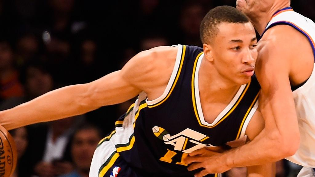 NBA 2014-15: Dante Exum's Utah Jazz beat New York Knicks ...