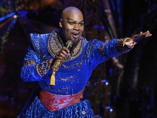 Michael James Scott is brilliant as the Genie.