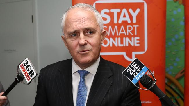 Not taking dictation ... Malcolm Turnbull has stood up to Alan Jones. Picture: Gary Ramage