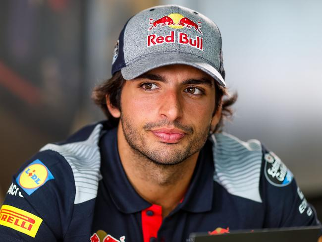 Carlos Sainz at the British Grand Prix.