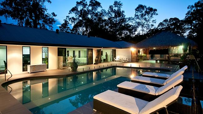 THE horse lovers paradise at 185 Beaudesert-Nerang Rd, Nerang, also has plenty of luxury touches.