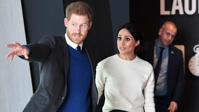 Prince Harry and Meghan Markle will marry on Saturday. Picture: Andrew Parsons — Pool/Getty Images