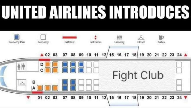 United Airlines Memes Mock Carrier S Disastrous Passenger