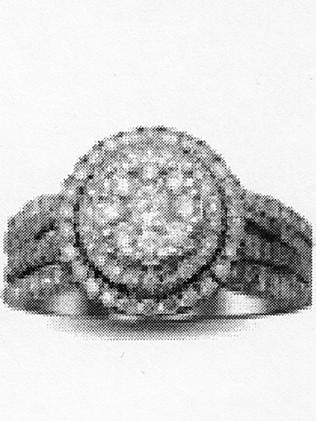 One of the rings taken from Maria as she was attacked in a Brunswick staff toilet.