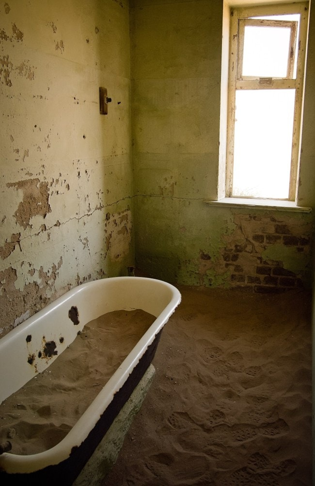 A bathroom seen in one of the buildings. Picture: istock