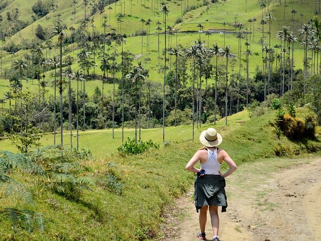 Australian Sarah Duncan decided to chuck it all in and chase her travel dream. Picture: Sarah Duncan