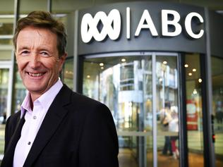Paul Barry former and returned Media Watch presenter at the ABC in Sydney Picture: Nowytarger Renee