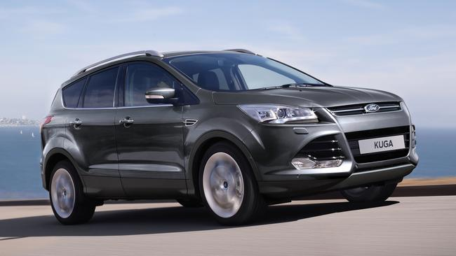 Ford is recalling almost 9000 examples of its Kuga SUV in Australia due to a fire risk following a crash. Picture: Supplied.