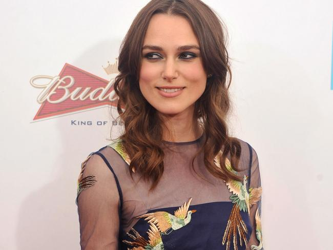 Keira Knightley at the New York premiere of the Weinstein company's BEGIN AGAIN. Photo by Stephen Lovekin