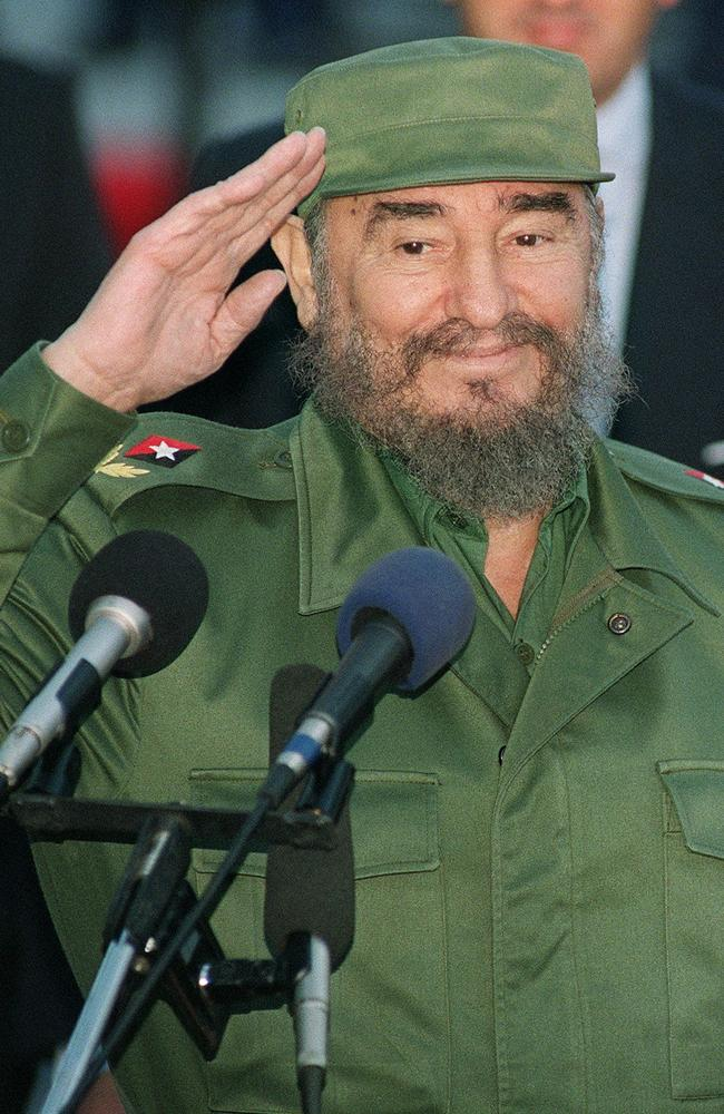 After countless assassination plots, Cuban President Fidel Castro has died in bed at the age of 90. Picture: AFP