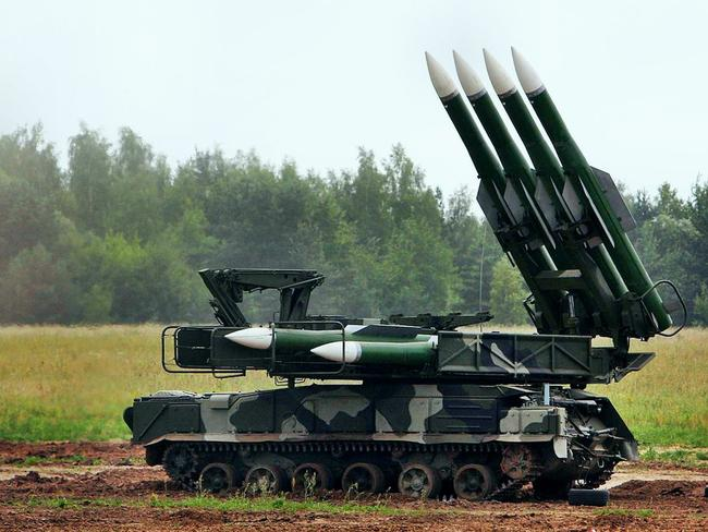 Prime suspect ... This photo shows a BUK missile system. This weapon platform is believed responsible for bringing down MH 17.