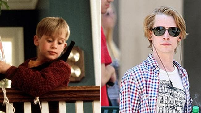 Macaulay Culkin in 1990. Photo: Everett Collection; Splash News