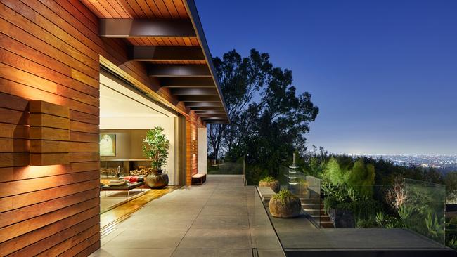 It boasts impressive views. Picture: Ty Cole/Architectural Digest