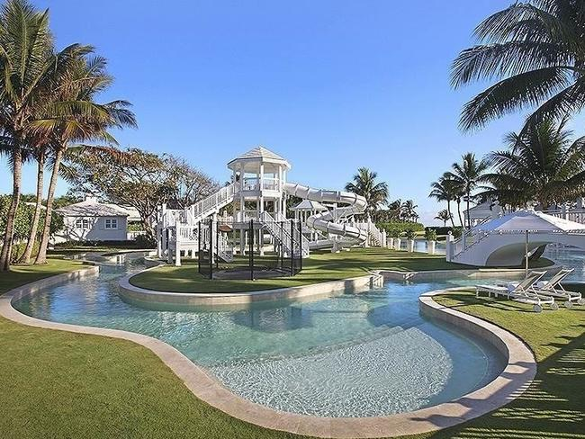 Celine Dion's mansion housed two water slides and her 3,000 pairs of shoes.