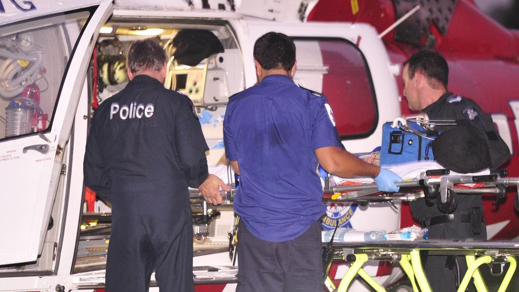 A teenager has been flown to hospital after being knocked out when he was struck by a car on Phillip Island. File pic
