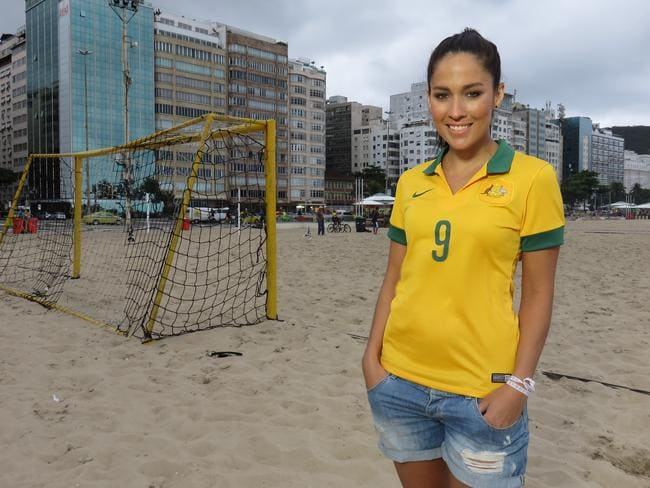 Ten sent McLaughlin to Brazil for its coverage of the World Cup.