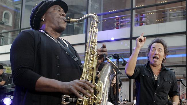 The late Clarence Clemons ... was one of the most popular E Street band members before his death in 2011. Picture: AP/Richard Drew