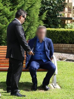Police allege the man believed he was speaking to the father of a girl aged 11. Picture: NSW Police