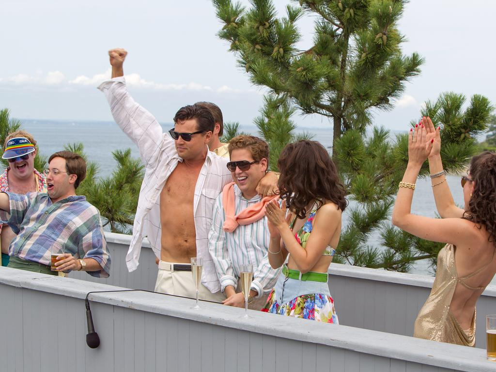 The crazy life of the wolf of wall street the courier mail amipublicfo Image collections
