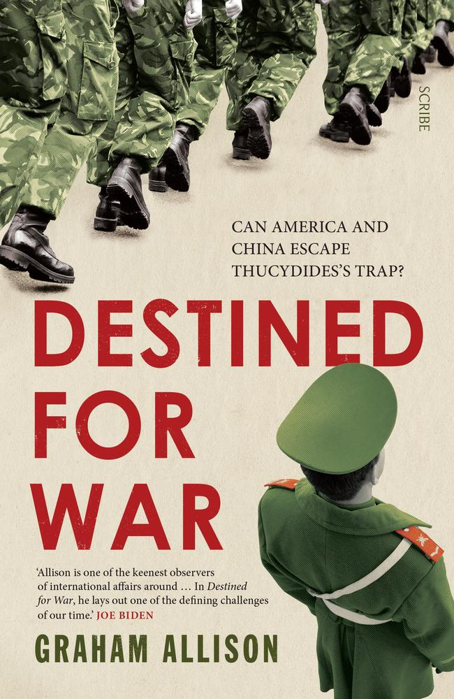 Destined for War: can America and China escape Thucydide's Trap? by Graham Allison asks whether the rise of China will end in conflict?