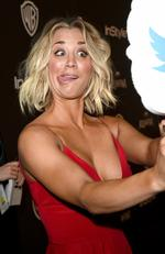 Big Bang Theory's Kaley Cuoco attends The 2016 InStyle And Warner Bros. 73rd Annual Golden Globe Awards Post-Party. Picture: Jason Merritt/Getty Images for InStyle