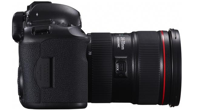 Weather-ready ... Canon's EOS 5DS 50.6-megapixel DSLR camera is sealed for water-resistance.