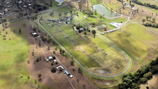 Nathan Tinkler's training complex at Canungra is capable of accommodating more than 300 horses and is one of the premier private training facilities in Australia. Picture: Luke Marsden