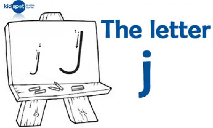 Handwriting: The letter j
