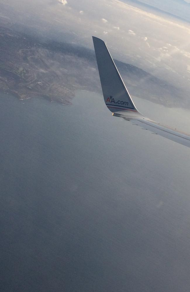 Token plane window snap. Pic: Melissa Hoyer