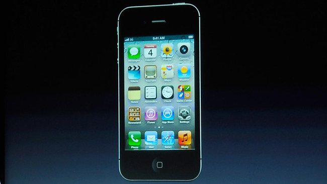 The new iPhone 4s unveiled on October 4.