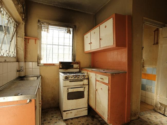 For a mere $1.75m plus half a million in renovations you could turn this dump into a beautiful home, property experts say. Picture: Tim Hunter.