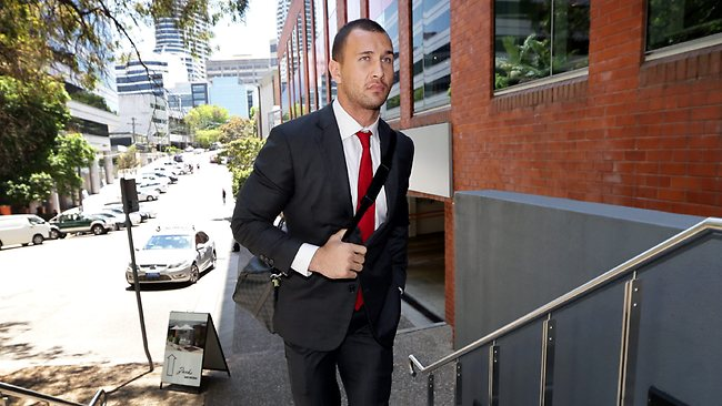 Australian fly-half Quade Cooper fronted ARU chiefs over two misconduct charges stemming from a Twitter brainsnap. Picture: Sam Ruttyn