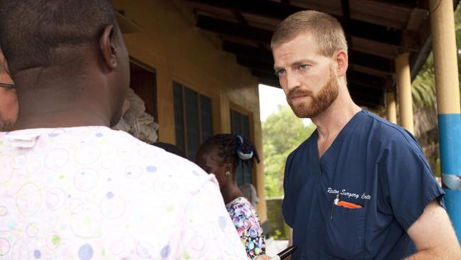 "In danger ... American doctor Kent Brantly contracted the Ebola virus in Liberia and is ""weak and quite ill,"" according to a colleague."