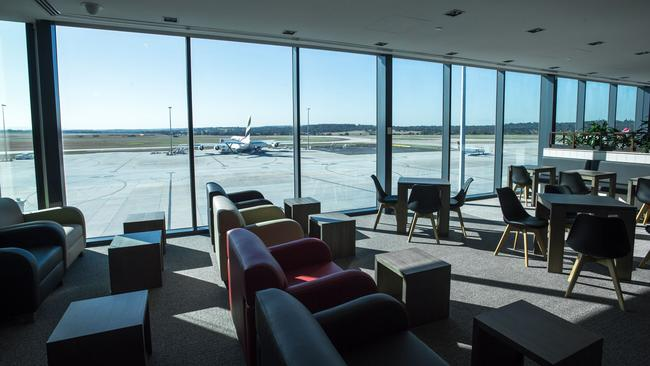 Marhaba Lounge at Melbourne Airport T2.