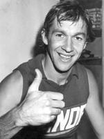 Wilson gives the thumbs-up in 1981.