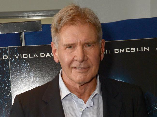 On the mend ... Harrison Ford broke his leg on the set of Star Wars. Picture: AP
