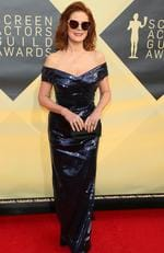 Actress Susan Sarandon arrives for the 24th Annual Screen Actors Guild Awards at the Shrine Exposition Center on January 21, 2018, in Los Angeles, California. Picture: AFP PHOTO / Jean-Baptiste LACROIX