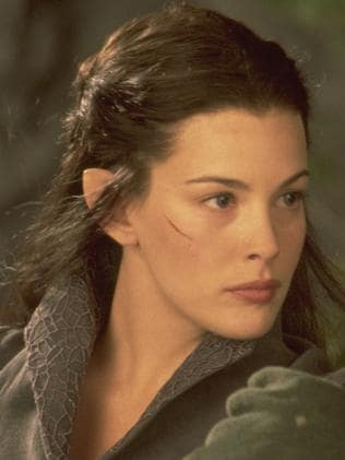 Liv Tyler as Arwen in Lord of the Rings. Picture: Supplied