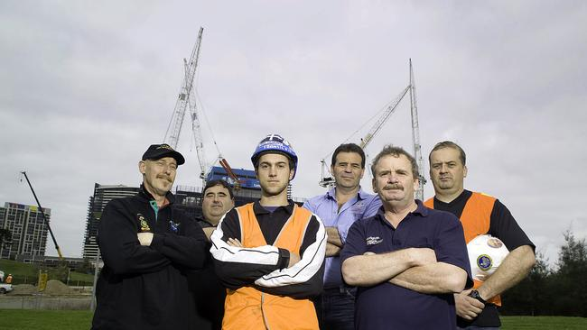 Franjic in his tradie days,