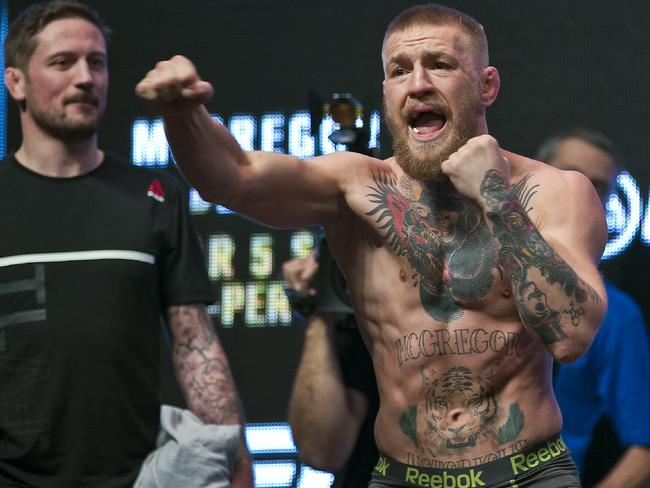 It is safe to say McGregor is confident.