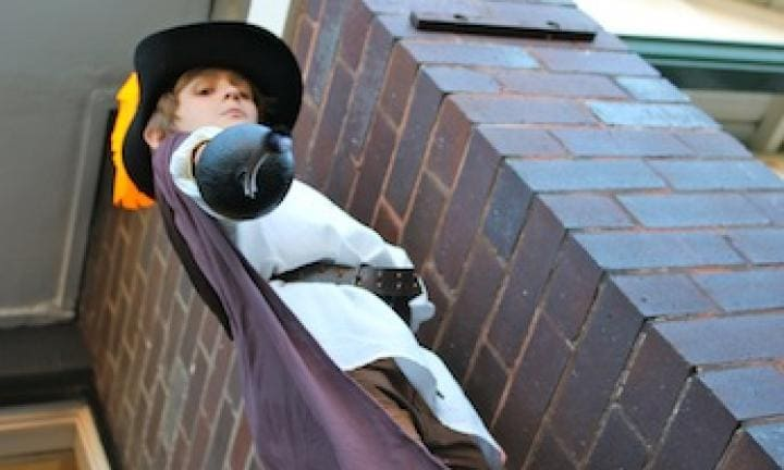 Five ways with a cape for Book Week