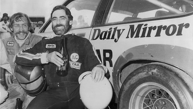 NGK Janson with then-teammate Larry Perkins.